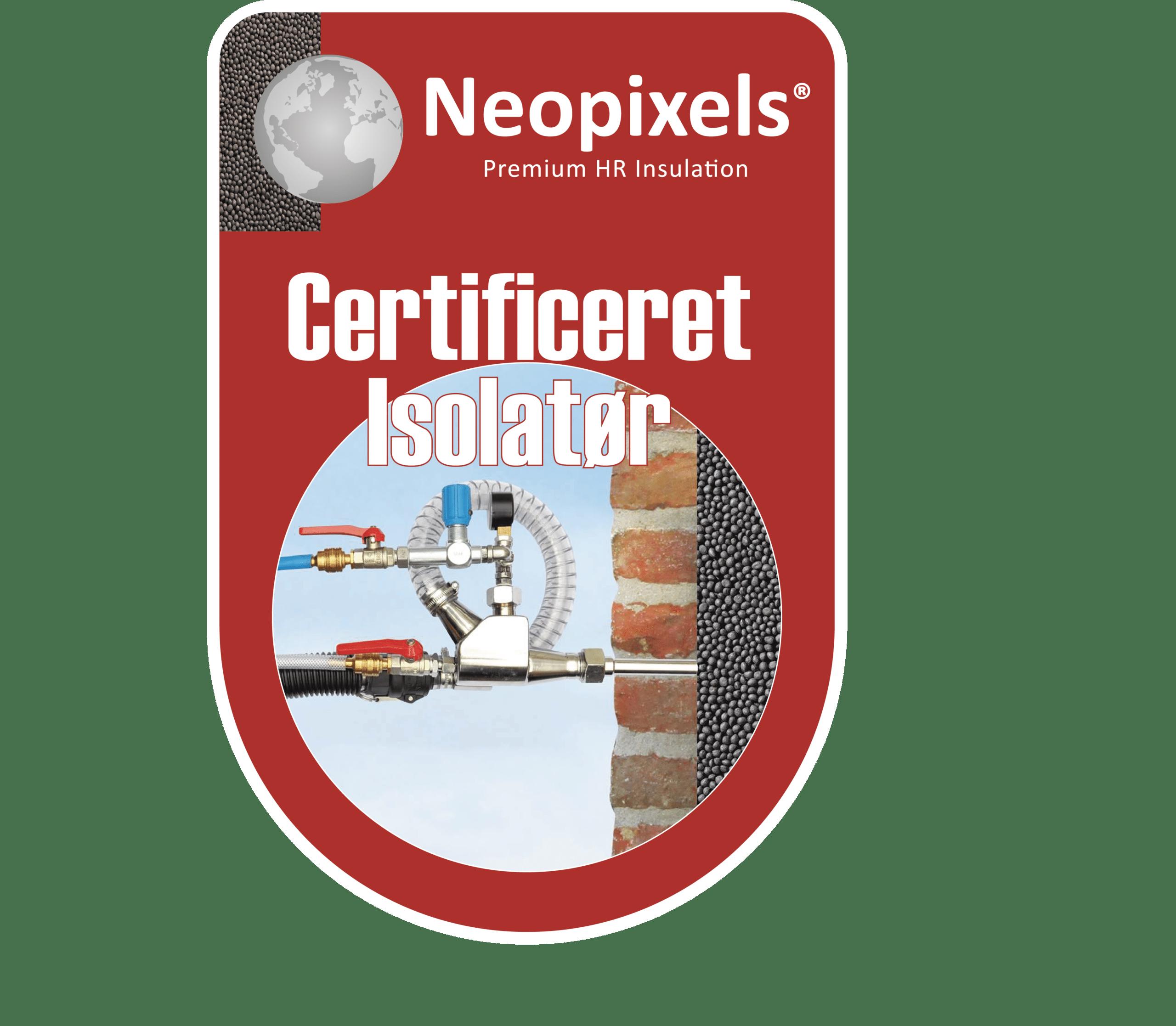 Certificeret Neopixels isolatør